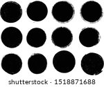 big collection of grunge post... | Shutterstock .eps vector #1518871688