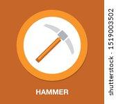 tool icon  hammer icon  vector... | Shutterstock .eps vector #1519003502