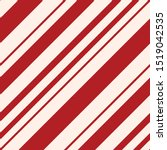 red candy cane stripes seamless ... | Shutterstock .eps vector #1519042535