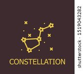 outline constellation vector... | Shutterstock .eps vector #1519043282