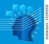 concept of modern business.... | Shutterstock .eps vector #151905332