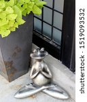 Large Metal Planter With Brigh...