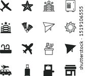 vacancy vector icon set such as ...   Shutterstock .eps vector #1519106555