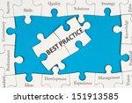 best practice concept with... | Shutterstock . vector #151913585