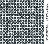 truchet random pattern... | Shutterstock .eps vector #1519191122