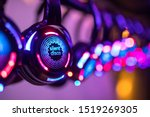 Silent Disco Colorful...