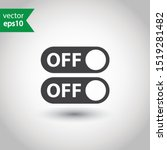 on off switch symbol. on off...