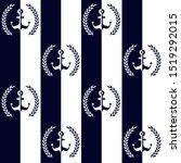 Nautical Pattern  Seamless...