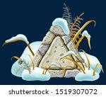 stone board decoration... | Shutterstock .eps vector #1519307072