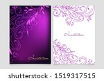 beautiful invitation card set...