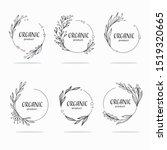 nature  organic  bio  nature...   Shutterstock .eps vector #1519320665