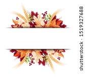 vector background banner with... | Shutterstock .eps vector #1519327688