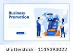 business promotion flat web...