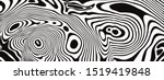 black  abstract liquid lines op ... | Shutterstock .eps vector #1519419848