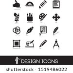 drawing objects and design... | Shutterstock .eps vector #1519486022