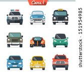 car icon set 1 | Shutterstock .eps vector #151954985
