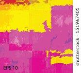 grunge retro vintage  texture ... | Shutterstock .eps vector #151967405
