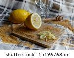 Still Life With Juicy Lemons