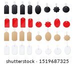 sell paper tag realistic vector ... | Shutterstock .eps vector #1519687325
