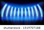 screens on stage during the... | Shutterstock .eps vector #1519707188