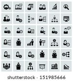 business and human resource... | Shutterstock .eps vector #151985666