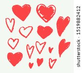 heart shape doodle sketch...   Shutterstock .eps vector #1519882412