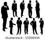 collection of businessmen. a... | Shutterstock .eps vector #15200434