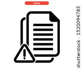 spam icon isolated sign symbol... | Shutterstock .eps vector #1520094785