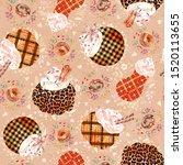 Watercolor Seamless Pattern ...