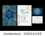 invitation to the wedding.... | Shutterstock .eps vector #1520121155