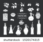 olives and olive oil glyph... | Shutterstock .eps vector #1520174315