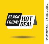 hot deal banner. vector...   Shutterstock .eps vector #1520196062