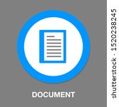 document list   paper icon  ... | Shutterstock .eps vector #1520238245