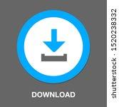 download icon   vector download ... | Shutterstock .eps vector #1520238332