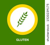 gluten free symbol icon  ... | Shutterstock .eps vector #1520239175