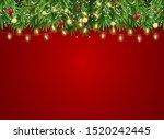 abstract holiday new year and... | Shutterstock . vector #1520242445