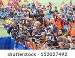 ������, ������: Unidentified photographers during Brazilian