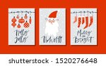 christmas gift cards or tags... | Shutterstock .eps vector #1520276648