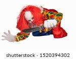 Bad Clown Lies On The Ground...