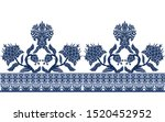 Seamless Border With Branches...