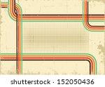 retro background .vector... | Shutterstock .eps vector #152050436