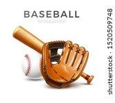 baseball tournament flyer ... | Shutterstock .eps vector #1520509748