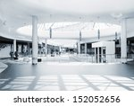 panoramic view of a modern mall | Shutterstock . vector #152052656