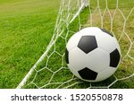 the football with the net on...   Shutterstock . vector #1520550878
