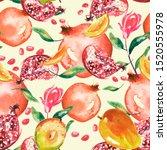 Watercolor  Vintage Seamless...