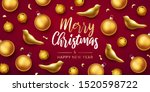 merry christmas and happy new... | Shutterstock .eps vector #1520598722