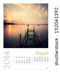 Photo Calendar With Minimalist...