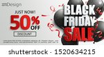 inviting banner for black... | Shutterstock .eps vector #1520634215