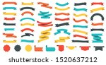 different colored ribbons... | Shutterstock .eps vector #1520637212