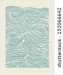 Sea Waves Pattern. Eps Vector...